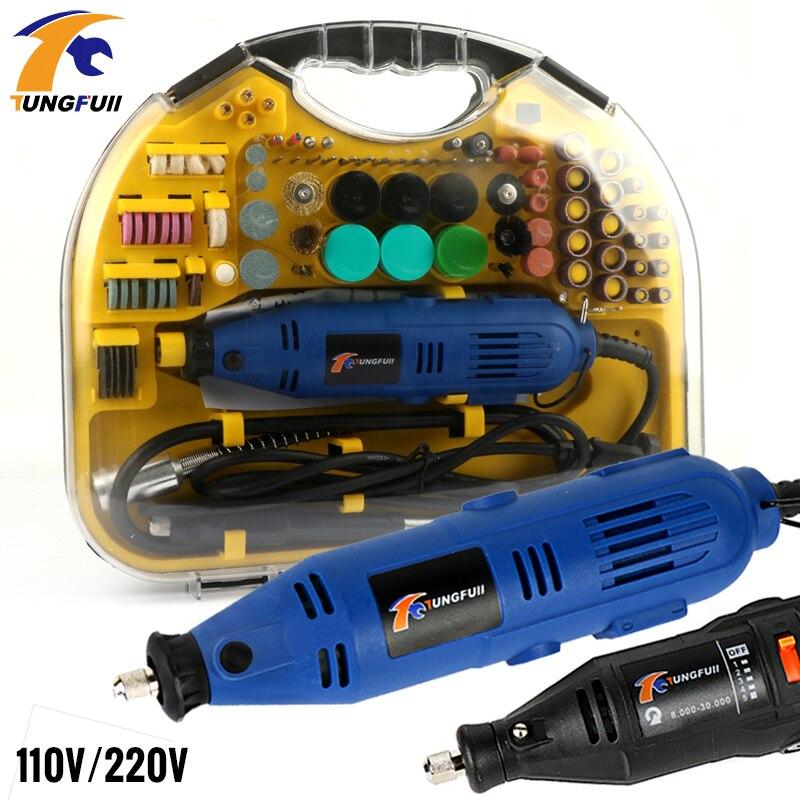 Livraison Rapide DEKO Mini perceuse Dremmel 220V mini meuleuse