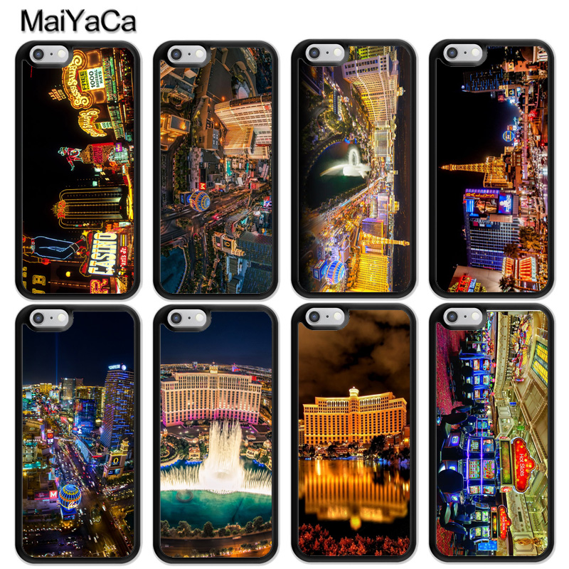 Maiyaca Las Vegas Nevada Casino Usa Case For Iphone 11 Pro Max X Xr Xs Max Se 2020 6s 7 8 Plus 5s Cover Fitted Cases Aliexpress