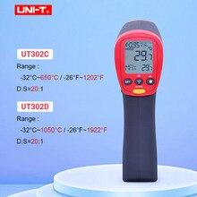 UNI T UT302A UT302C UT302D Non Contact Digital Thermometer Handheld Infrared Temperature gun 100% original