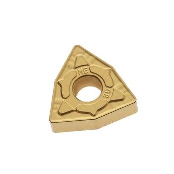 10PCS carbide inserts WNMG080408N-ME AC820P WNMG080408N-ME AC830P  free shipping