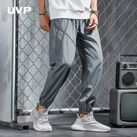 Joggers Sports Pants Men Sweatpants Male Grey Casual Pants Trousers Man Fitness Clothing Male Tracksuit Bottoms Elastic Waist