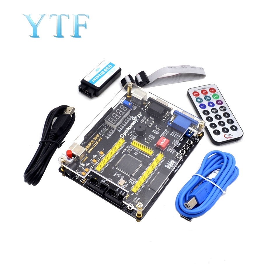 Tablero FPGA ALTERA IV EP4CE, cuatro generaciones, Niosi, Control remoto para enviar vídeo, descargador