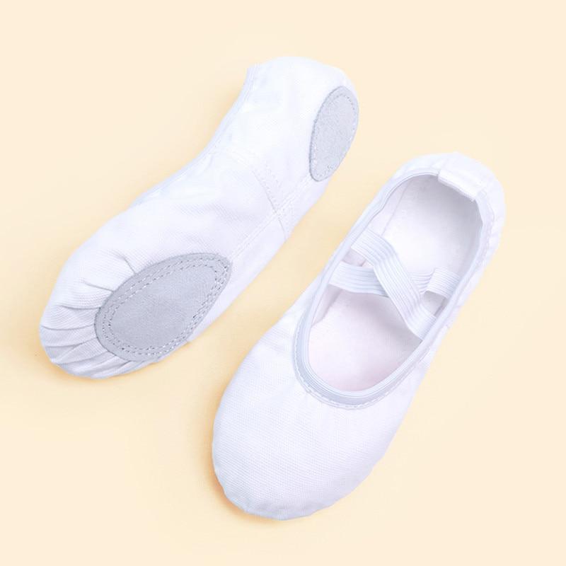 Girls Kids Pointe Shoes Dance Slippers High Quality Ballerina Practice Shoe For Ballet 6 color Ballet Dancer Professional Shoe 3