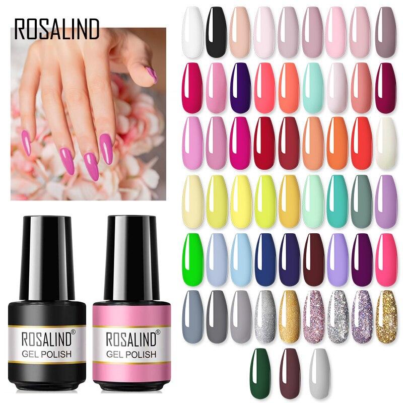 Розалинд 7 мл гель для ногтей лак для нейл-арта гибридный дизайн ногтей гель! Полупостоянная все для маникюра нужно УФ светодиодный светильн...