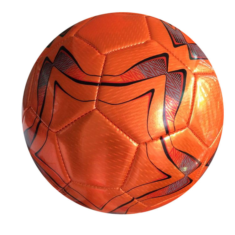 High Grade PVC Machine Sewn Football Sports With 4 Football Thick Resistance Kick