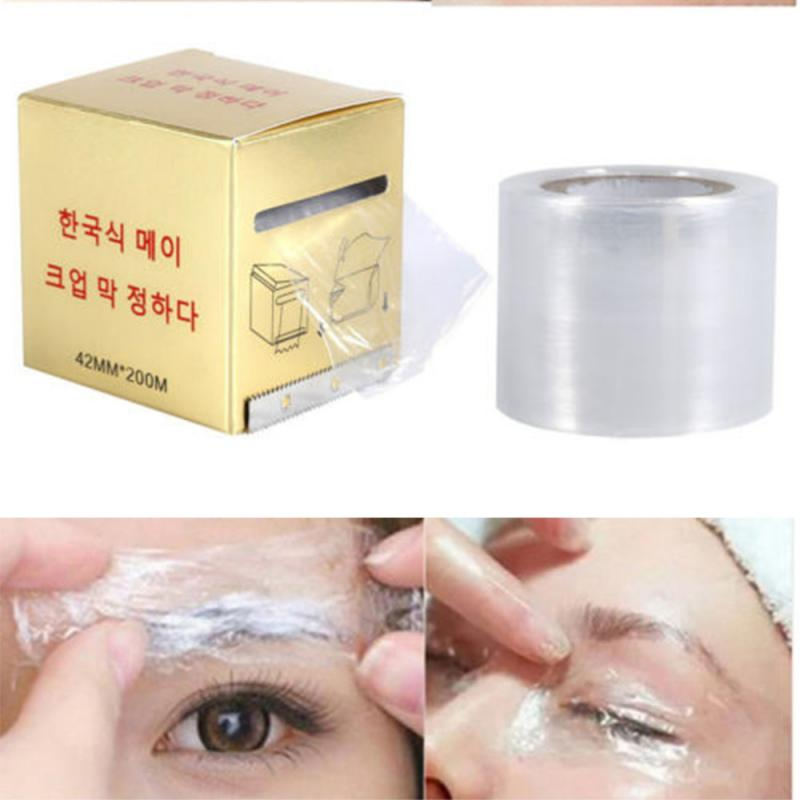 1 Roll 40MM*200MM Tattoo Clear Wrap Cover Preservative Film Microblading Tattoo Film Permanent Makeup Tattoo Eyebrow Supplies