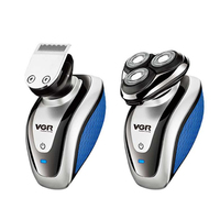 2 em 1 barbeador elétrico usb navalha bareheadhair clipper artefato masculino multifuncional conjunto