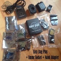 2020 original new z3x easy jtag plus box set + EMMC socket +NAND socket adapter