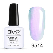 Elite99 10Ml Shell Pearl UV Gel Nail Polish Rendam Off Primer untuk Kuku Gel Varnish Putri Duyung Semi Permanen Kuku bahasa Polandia Gellak(China)