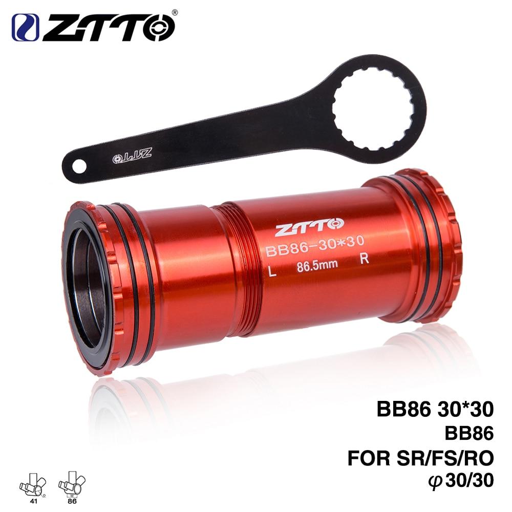 BB86 BB92 30 Press Fit Bottom Bracket 4 Bearing For FSA ROTOR SRAM 30mm Crankset