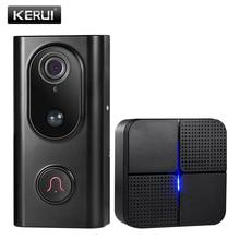 KERUI WiFi Video Doorbell Smart Wireless Intercom Doorbell A