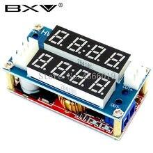 2 em 1 xl4015 5a potência ajustável cc/cv step-down módulo de carga led driver voltímetro amperímetro tensão constante atual