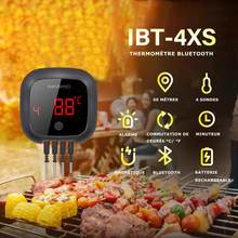 Inkbird IBT-4XS Digital Wireless BBQ Thermometer Meat Temperature Regulator with Sensor Kitchen Utensil Home Accessories Gadget