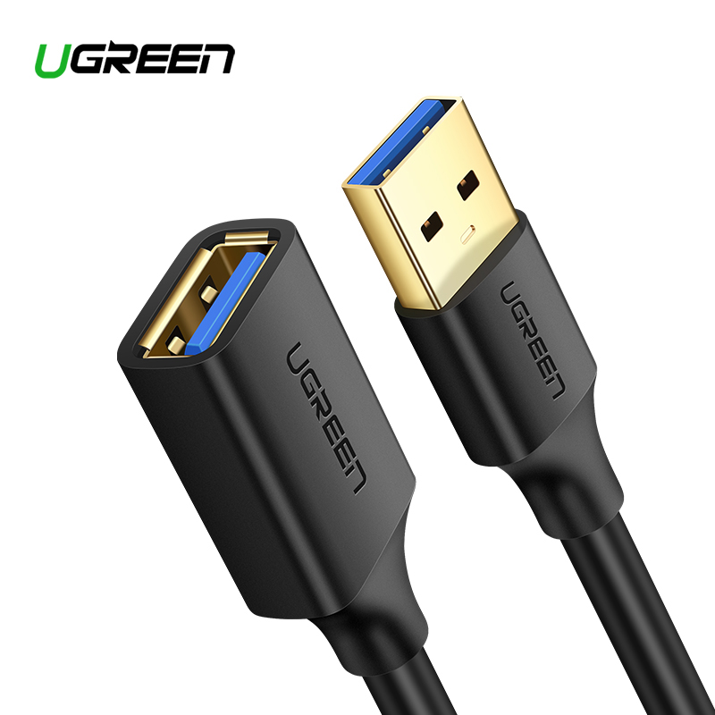 Ugreen USB Extension Cable USB 3.0 Cable For Smart Printer PS4  SSD USB3.0 2.0 To Extender Data Cord Mini USB Extension Cable