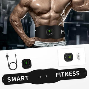 Abdominal Muscle Trainer Ems Massage Press Stimulator Body Slimming Shaper Machine Waist Belly belt Exercise Fitness Equipment