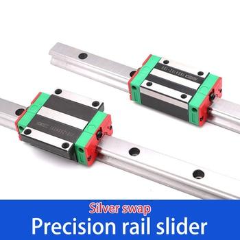 Precision Rail Slider XUDZ Linear Guide HGW Slider HGH20CA Slide Rail CC Bearing Slider Silver Accessory parts