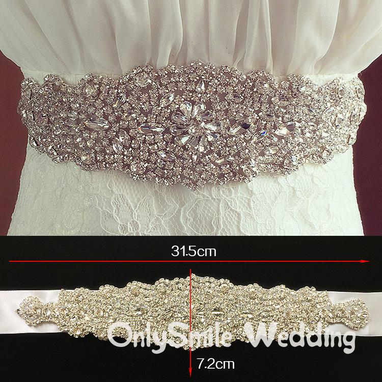Pearls Wedding Belt Dress Sliver Crystal Bridal Belt Rhinestones Wedding Sash Bridal Party Wedding Dress Belt