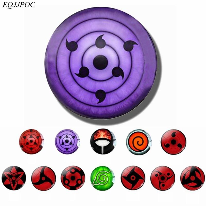 Rinnegan Eye Naruto магнит на холодильник Uchiha Clan Sharingan Eye Аниме Наруто магнит на холодильник Itachi Sasuke Kakashi доска объявлений