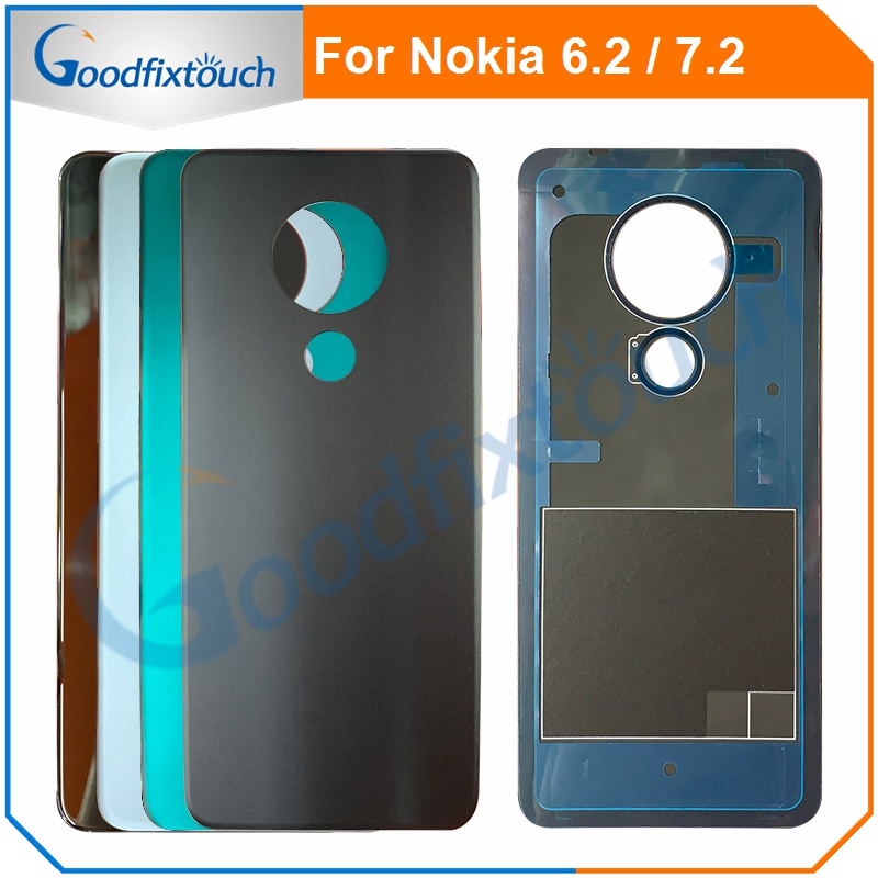 Back Cover For <font><b>Nokia</b></font> 6.2 / 7.2 TA-<font><b>1200</b></font> TA-1198 TA-1201 TA-1193 TA-1178 TA-1196 TA-1181 Battery Cover <font><b>Housing</b></font> Rear Door Back Case image