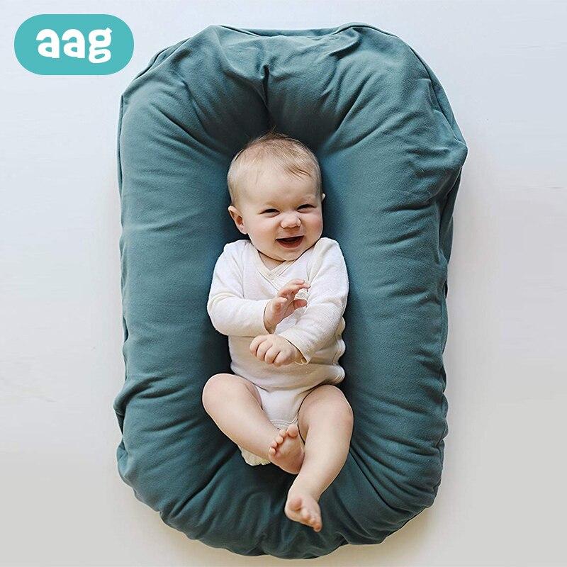 AAG lit bébé berceau nouveau-né nid bébé berceau bébé nouveau-né Portable berceau voyage berceau coussin bébé couffin pare-chocs chambre décor