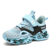 New Kids Casual Sport Shoes Lightweight Running Sneakers Boys  Hollow Out Walking Shoes Mesh Breathable Anti slippery Size28 39