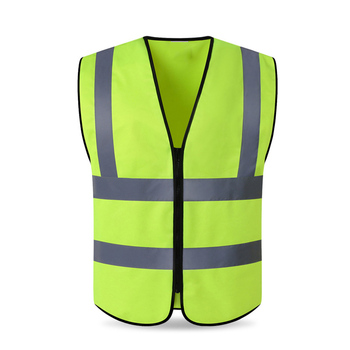 High Visibility Yellow Vest Reflective Safety Workwear for Night Running Cycling Man Night Warning Working Clothes Fluorescent sports safety warning vest fluorescent riding clothes motorcycle reflective vests