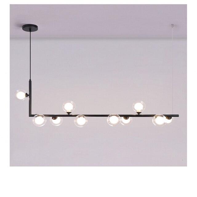 современные минималистичные подвесные светильники в скандинавском фотография