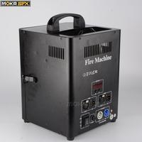 Double Head fire Machine shoot 4m DMX Stage Flame Thrower Stage Flame Projector Machine For Party Stage Effect