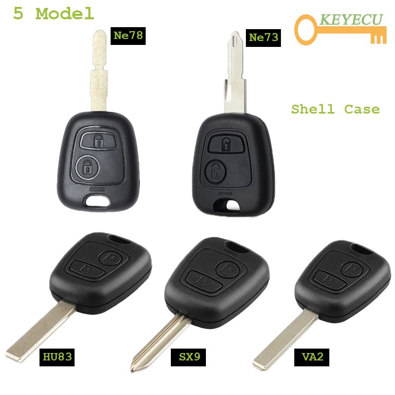 Top 10 Largest Citroen C2 2 Button Car Key Ideas And Get Free Shipping A104