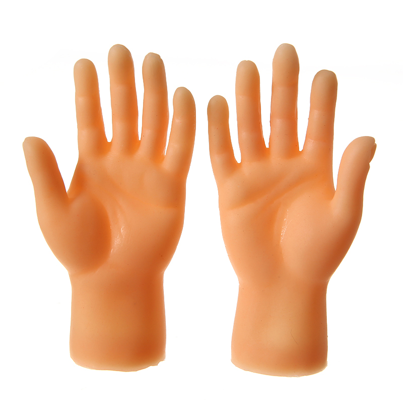 2pcs Finger Toys Finger Puppet Mini Finger Hands Funny Hand Puppet For Game Plastic Cartoon Novelty Interesting Finger Toys