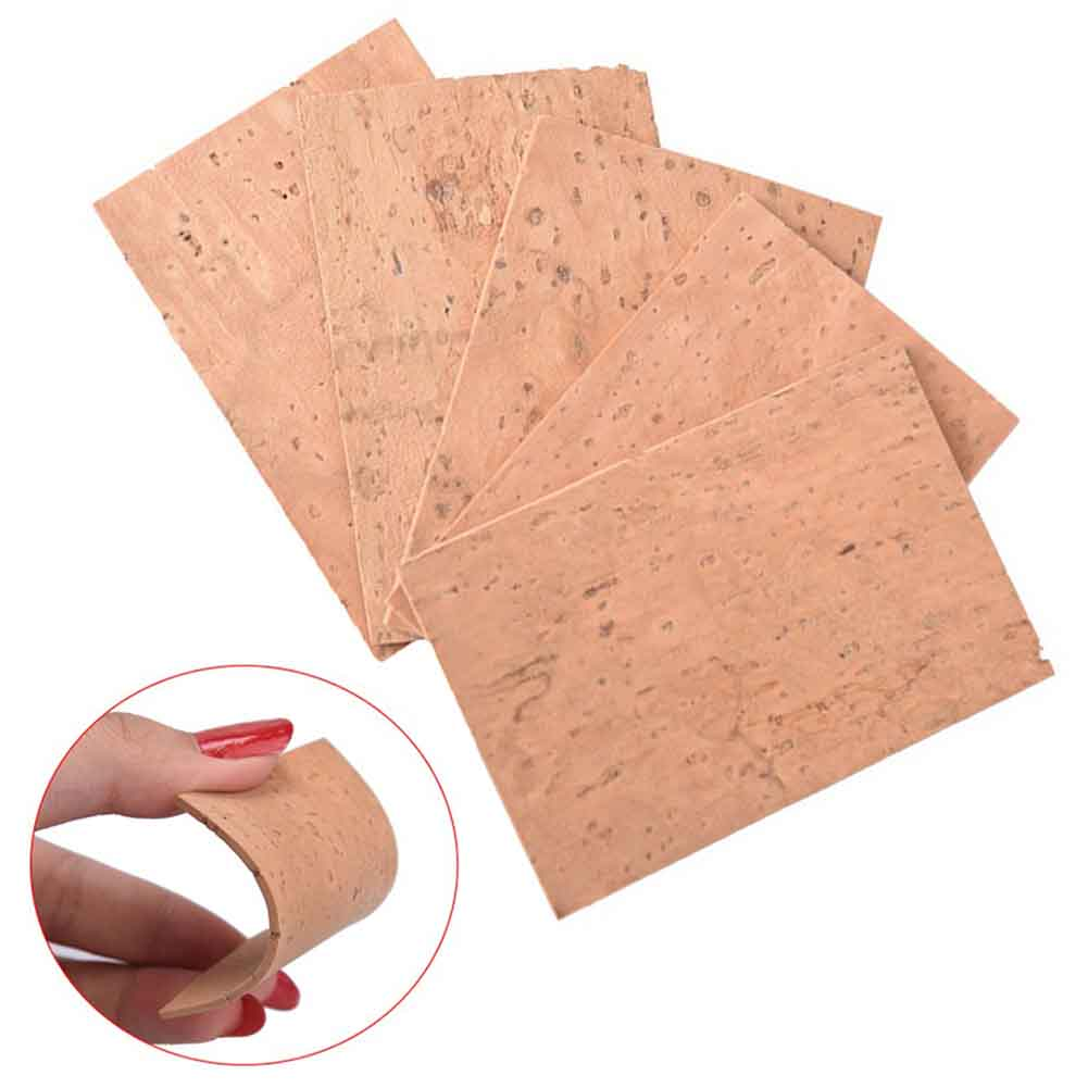 10pcs Self Adhesive Saxophone Cork Sheet Neck Joint Board Suitable For Alto/Soprano/Tenor Sax Musical Instrument Accessories