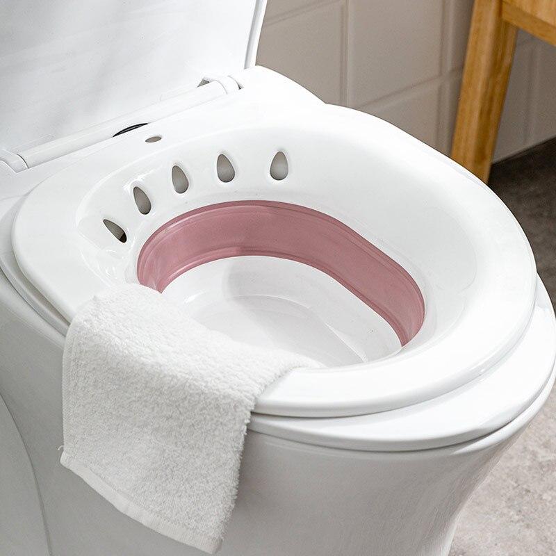 Dobrável mulheres grávidas bidé banho hip care chuveiro banheiro lavatório acne toalete bidé butt bacia lavagem potty maternal fornecimento-2