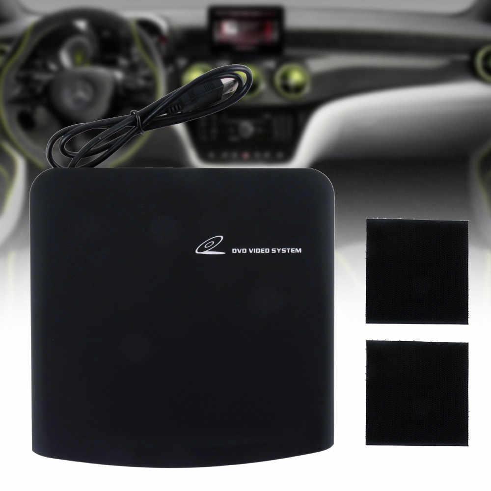 ユニバーサル外部車cd MP3 hdビデオプレーヤーusb電源の互換性pcのtvアンドロイドdvd皿ボックス