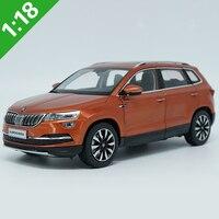 1:18 High Meticulous Skoda KAROQ Alloy Model Car Static Metal Model Vehicles With Original Box