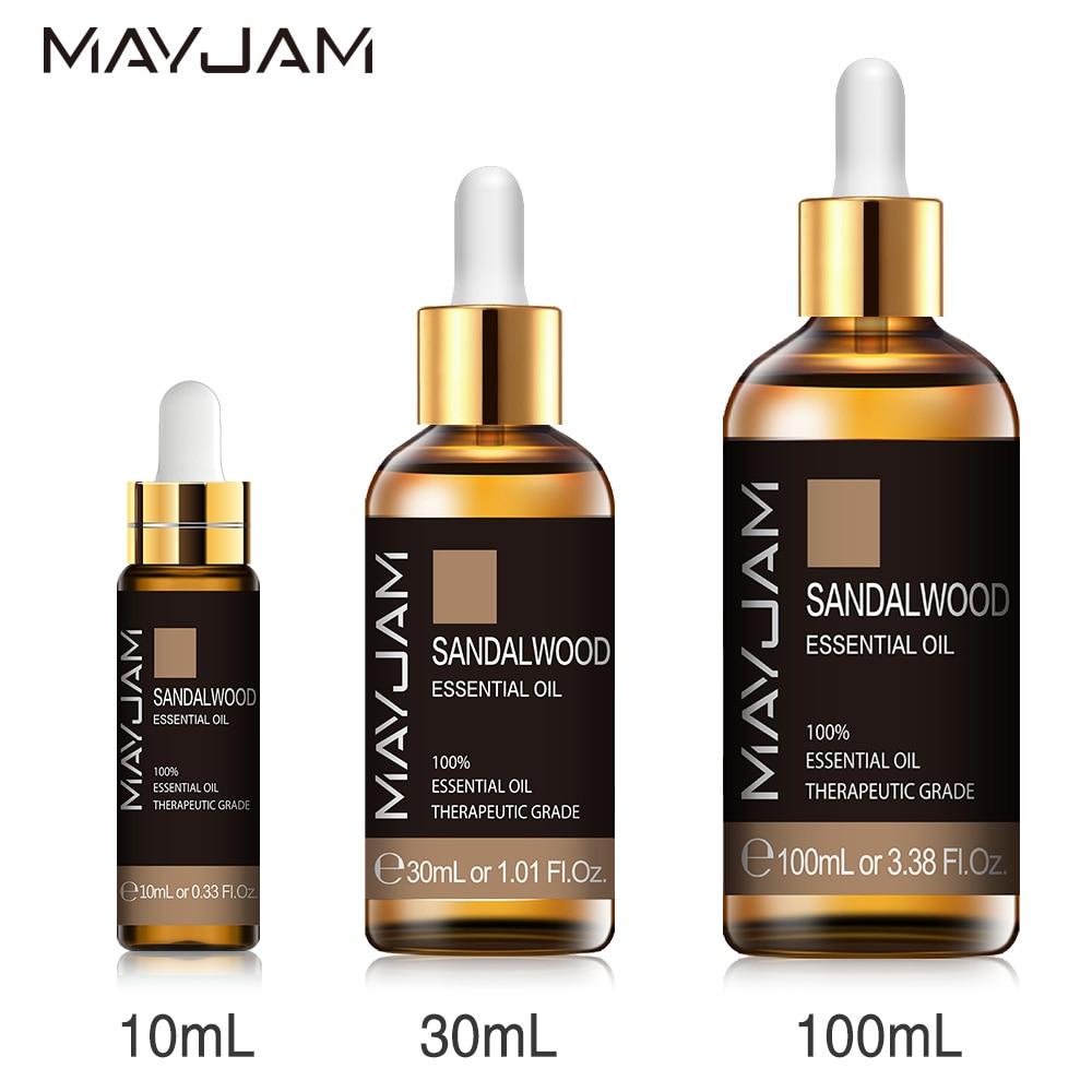 10ml 30ml 100ml oli essenziali di sandalo naturale puro diffusore di aromaterapia olio aromatico per la cura della pelle massaggio del corpo 1