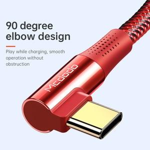 Image 4 - Mcdodo 100W PD kabel USB typ C do type c 5A do Samsung S10 S9 Huawei przełącznik Macbook Notebook magnetyczny kabel USB do transmisji danych