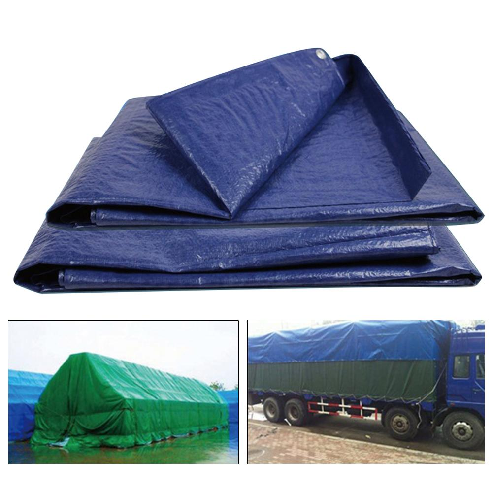 Heavy Duty Awning Waterproof Tarp Tent Shade Garden Canopy Sunshade Outdoor Camping Hammock Cover Yard Sun Shelter Truck Cover 4