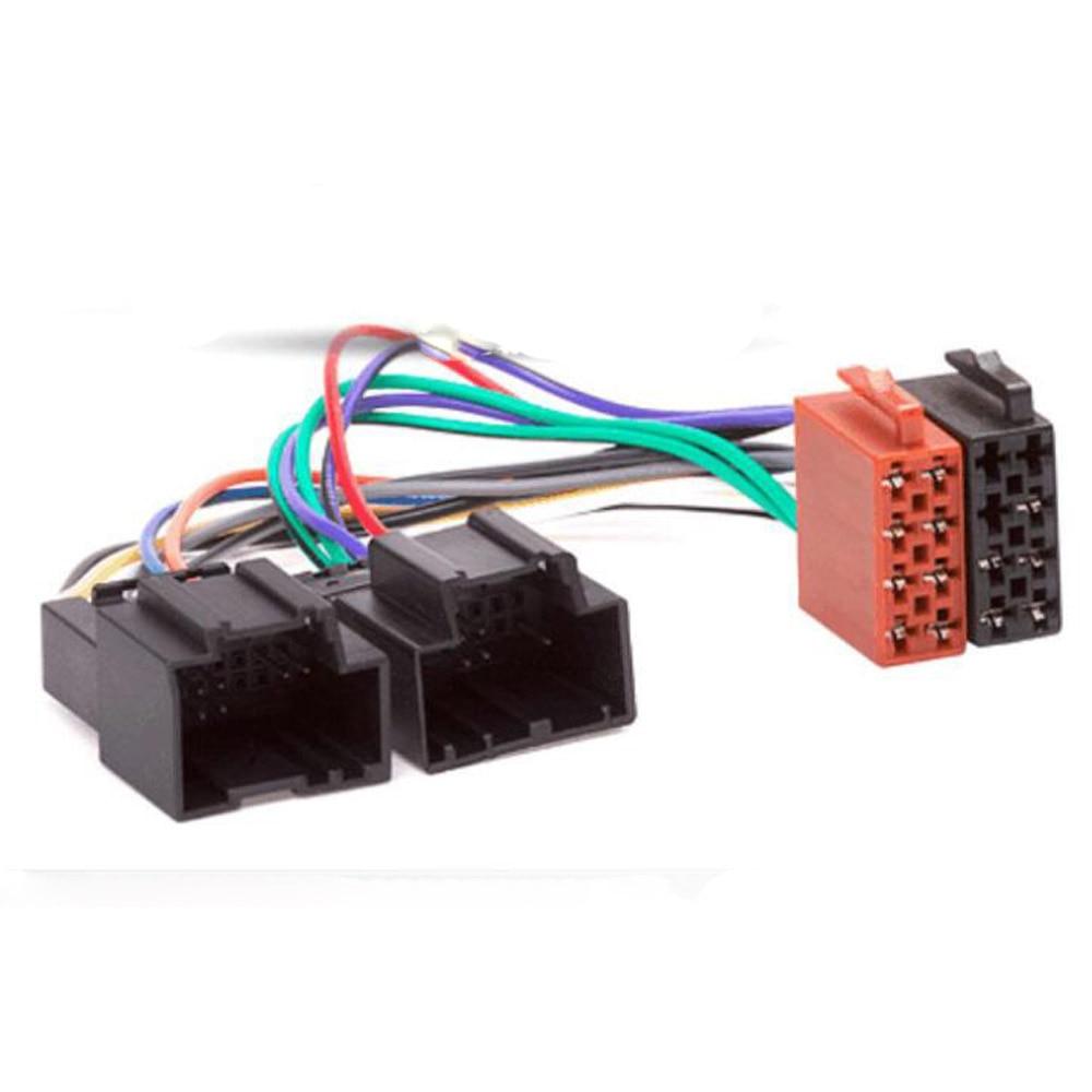 Rádio do carro iso adaptador interruptor cabo para chevrolet captiva enclave silverado tahoe para opel gt