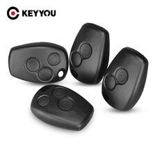 KEYYOU – coque de clé télécommande à 2/3 boutons, pour Renault Megane, Modus, Espace, Laguna, Duster, Logan, DACIA, Sandero, Fluence, Clio, Kangoo