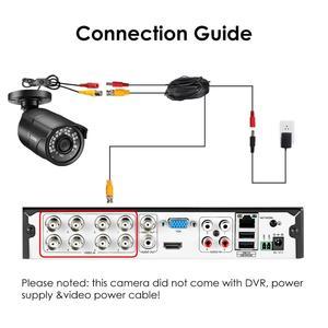 Image 5 - ZOSI 960H 1080P CVBS AHD TVI CVI CMOS الاستشعار رصاصة CCTV فيديو التناظرية 3.6 مللي متر المنزل كاميرا مراقبة صغيرة HD الأمن مقاوم للماء