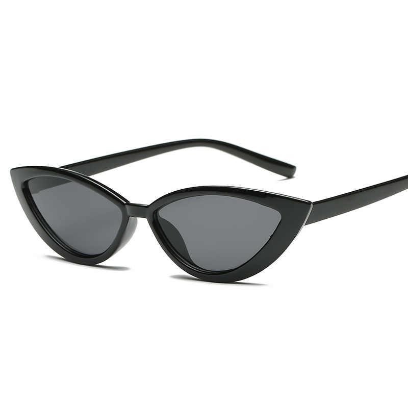 New Vintage Vintage Cat Eyeแว่นตากันแดดแฟชั่นผู้หญิงยี่ห้อDesignerกระจกกรอบCateyeแว่นตาSunสำหรับหญิงShades UV400
