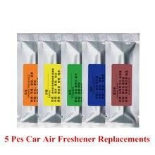 5 sztuk odświeżacz powietrza do samochodu wymiana Car Styling klimatyzacja odświeżacz powietrza kij zapach w samochodzie stałe odświeżacz powietrza oczyszczacz
