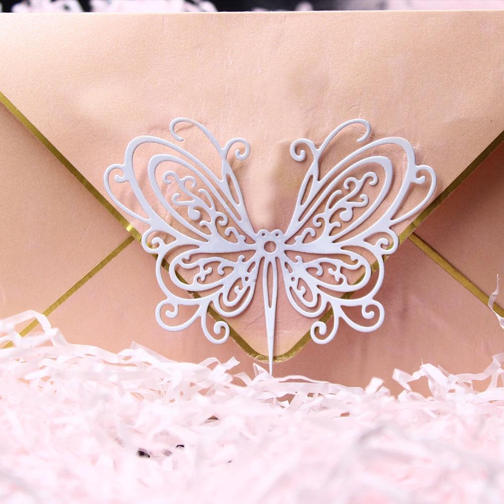 Stunning Butterfly Metal Cutting Dies For Stencil  Scrapbooking Album New For 2019 Die Cut Stitch Craft Die Stencil Troqueles