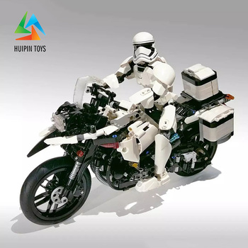 1075Pcs XINGBAO Building Blocks легоe technic XB-03019 BMWs F700 GS Rallye Patrol Motorcyle Model Children Toys Bricks