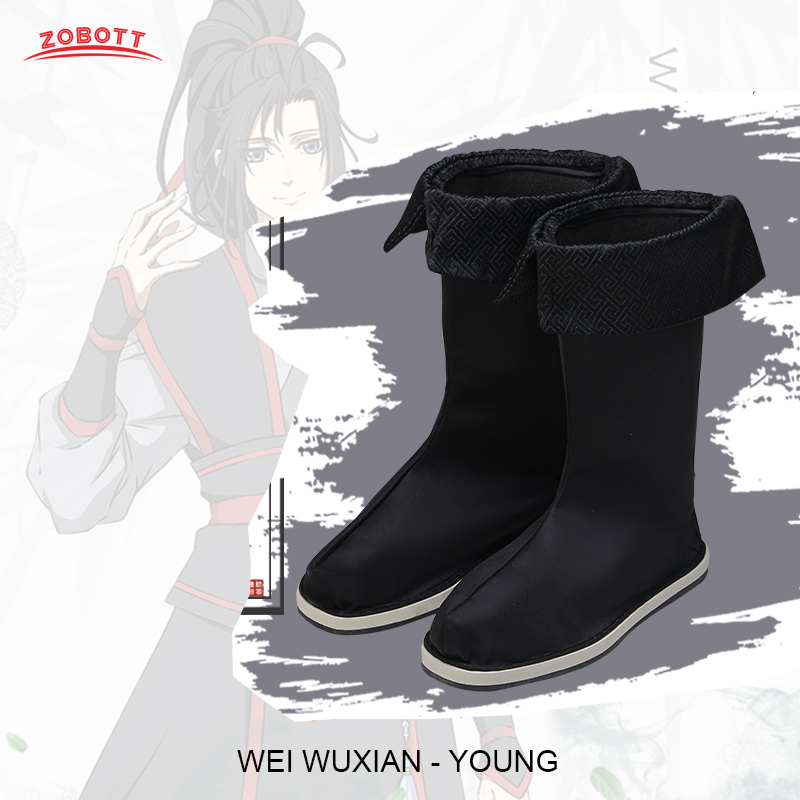 Grandmaster of Demonic Cultivation Cosplay Shoes//Boots Wei Wuxian Accessories