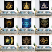 Tapestry Bohemian Mandala Tapestry Indian Buddhism Wall Mount Beach Mat Picnic Mat Bed Cover Bedroom Living Room Home Decoration(China)