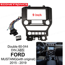 Adaptor Audio-Fitting MUSTANG Dvd-Frame Radio-Player Dash-Trim-Kits Facia-Panel 9inch