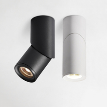 調光可能な回転ledダウンライト 10W15W20W cob ledシーリングスポットライトAC110 220V ledウォールランプウォームコールドホワイト屋内照明