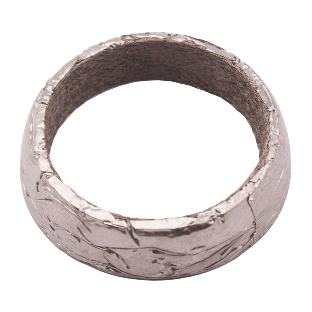 Junta universal de colector de rosquillas de escape de acero inoxidable de 2,5