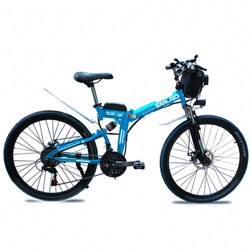 "1000W 48V 26 "" Carbon Steel electric bike with 13AH lithium battery e MTB 26 ""Carbon Steel electric e-bike 3"